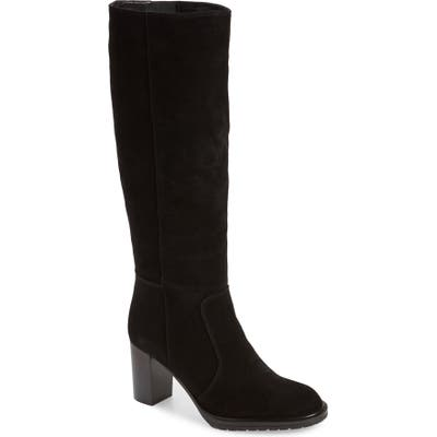 Aquatalia Breanna Weatherproof Knee High Boot- Black