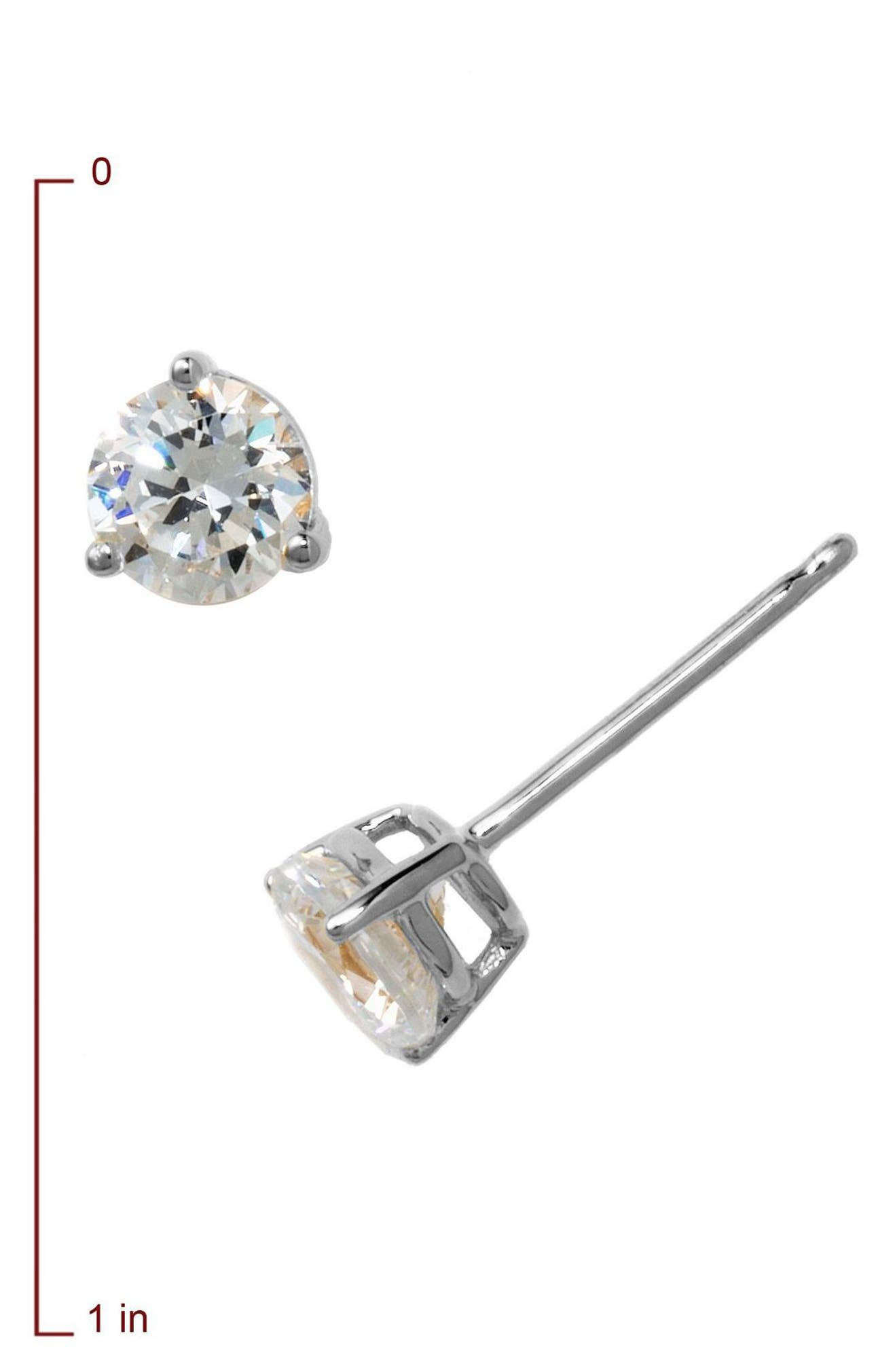 a15163bbc18e63 Nordstrom 1ct tw Cubic Zirconia Earrings | Nordstrom