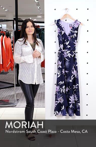 Asymmetrical Faux Wrap Midi Dress, sales video thumbnail