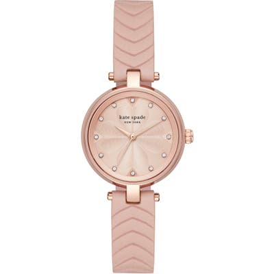 Kate Spade New York Annadale Leather Strap Watch, 30Mm