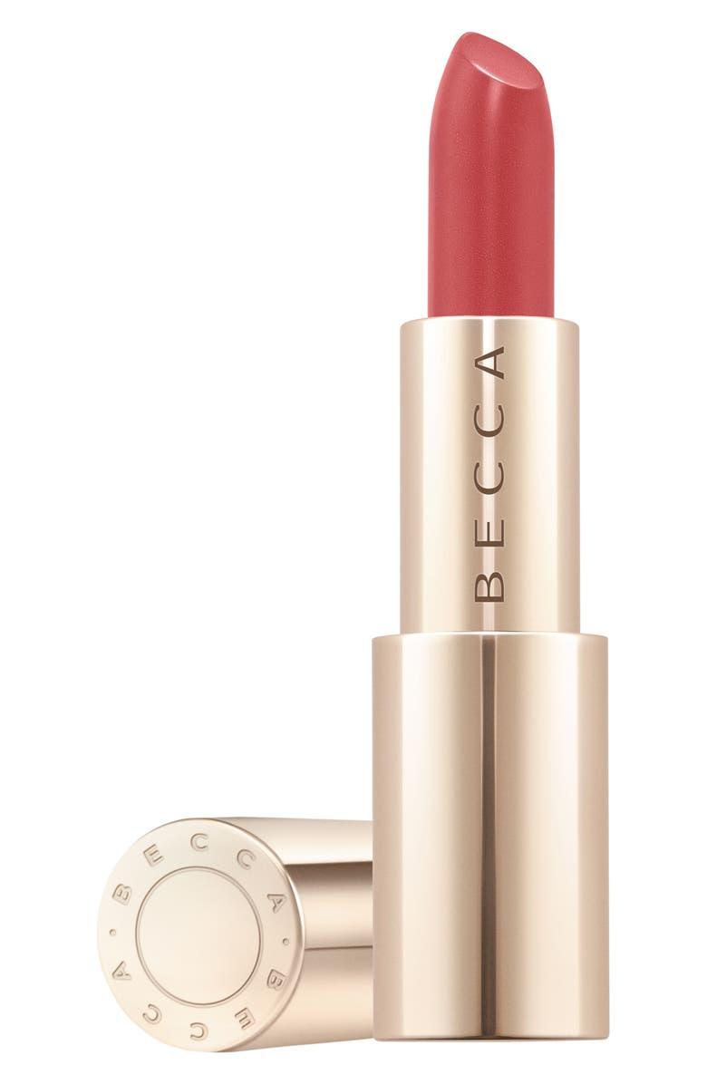 BECCA COSMETICS BECCA Ultimate Lipstick Love in Pink Ribbon, Main, color, NO COLOR
