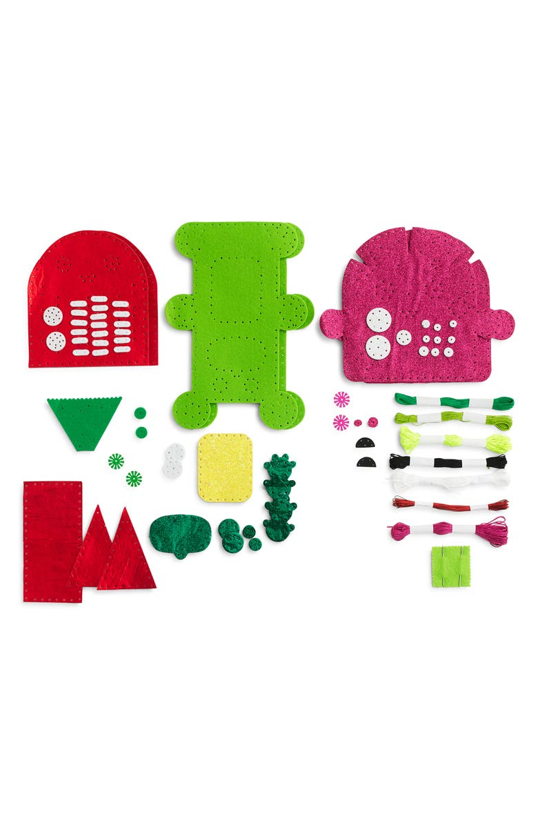 CREWCUTS BY J.CREW x Kid Made Modern Make Your Own Stuffed Toy Kit, Main, color, 960