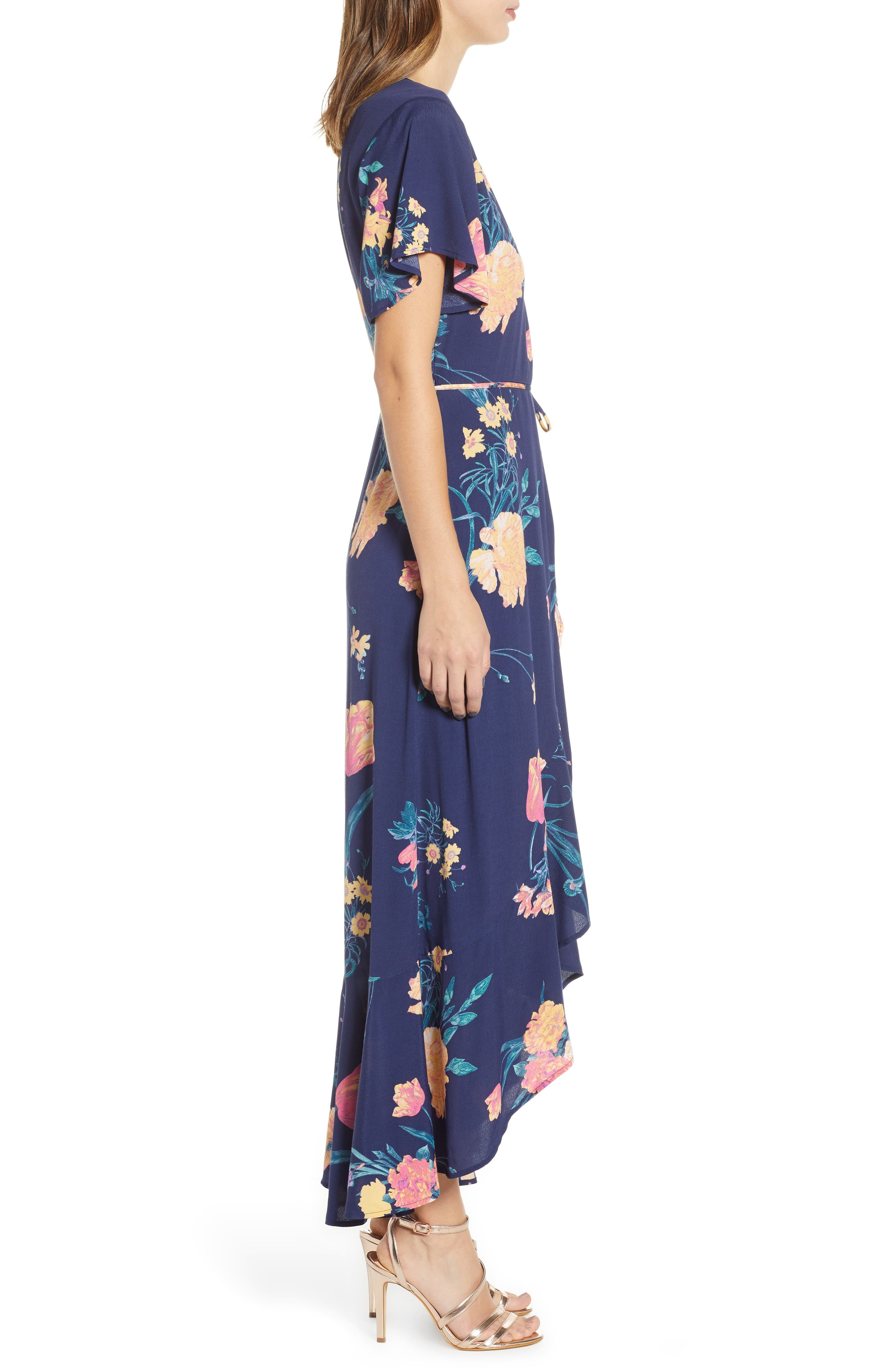 ,                             Long Languid Dress,                             Alternate thumbnail 6, color,                             410