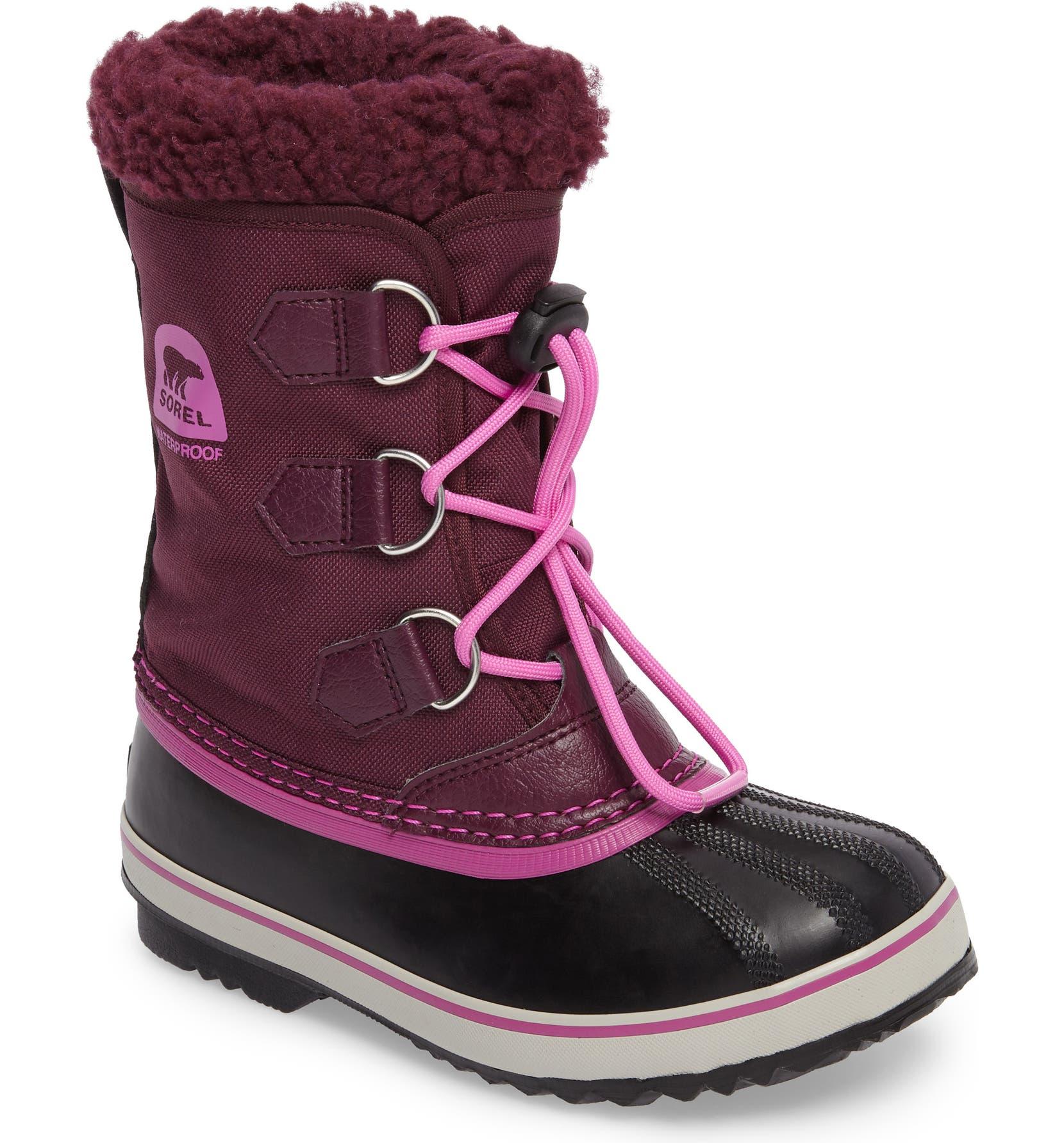 09d01c5602b SOREL 'Yoot Pac' Waterproof Snow Boot (Toddler, Little Kid & Big Kid) |  Nordstrom