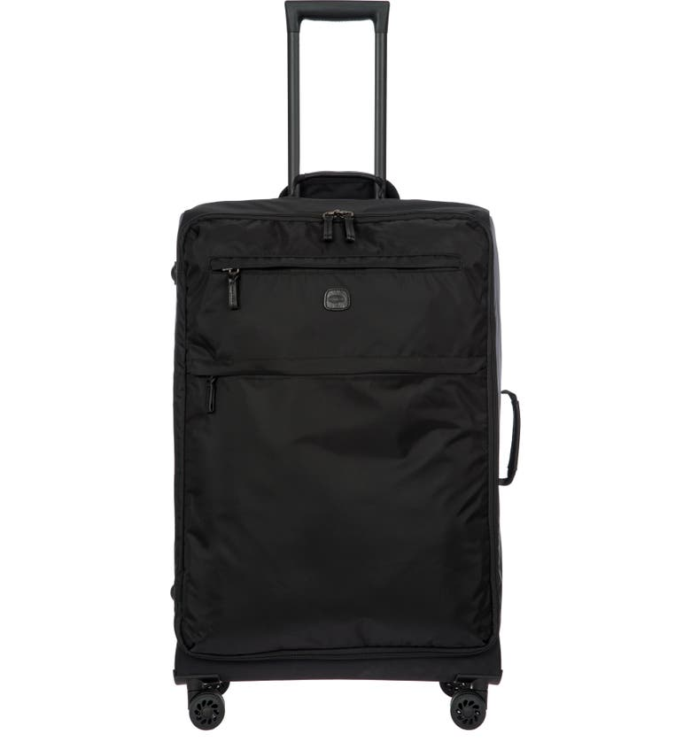 BRIC'S X-Bag 30-Inch Spinner Suitcase, Main, color, BLACK/ BLACK