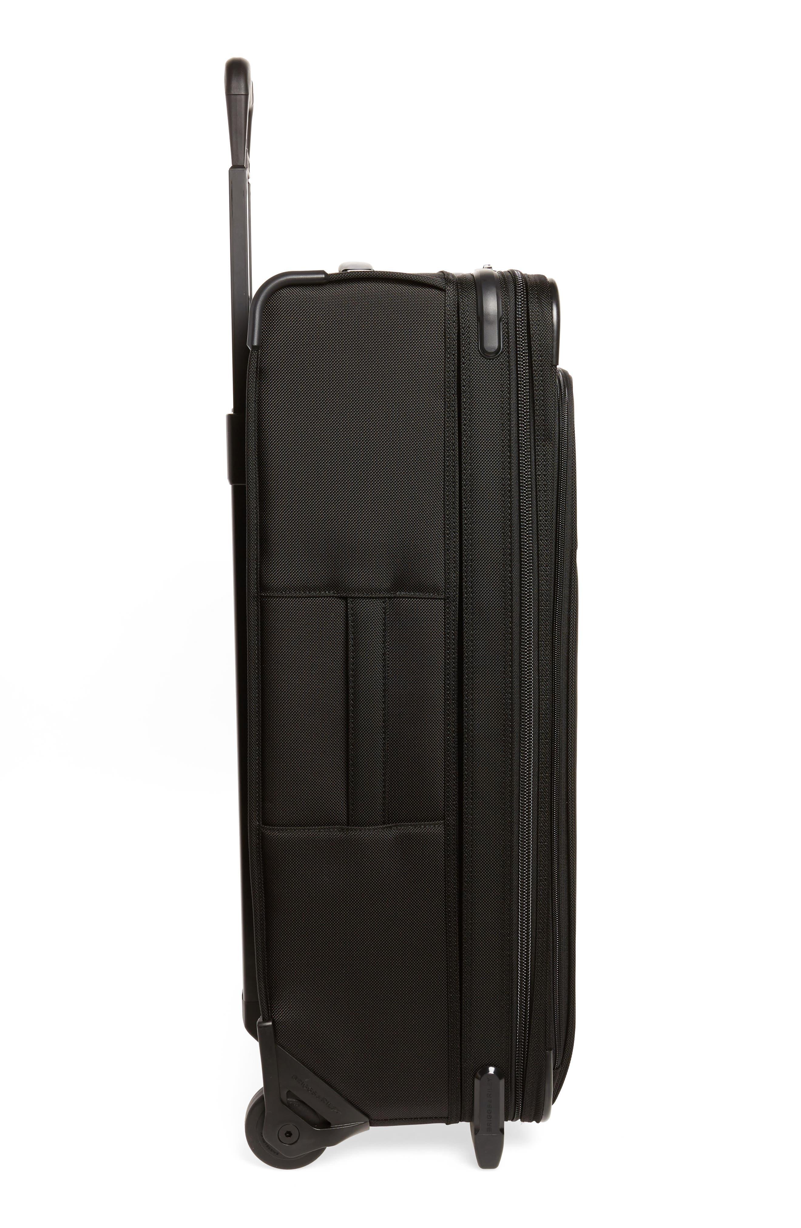 ,                             Large Baseline Expandable 28-Inch Rolling Packing Case,                             Alternate thumbnail 3, color,                             BLACK