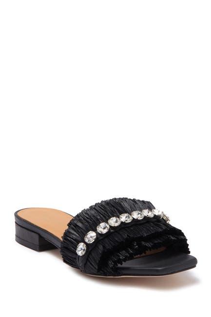Image of Paloma Barcelo Estella Embellished Slide Sandal