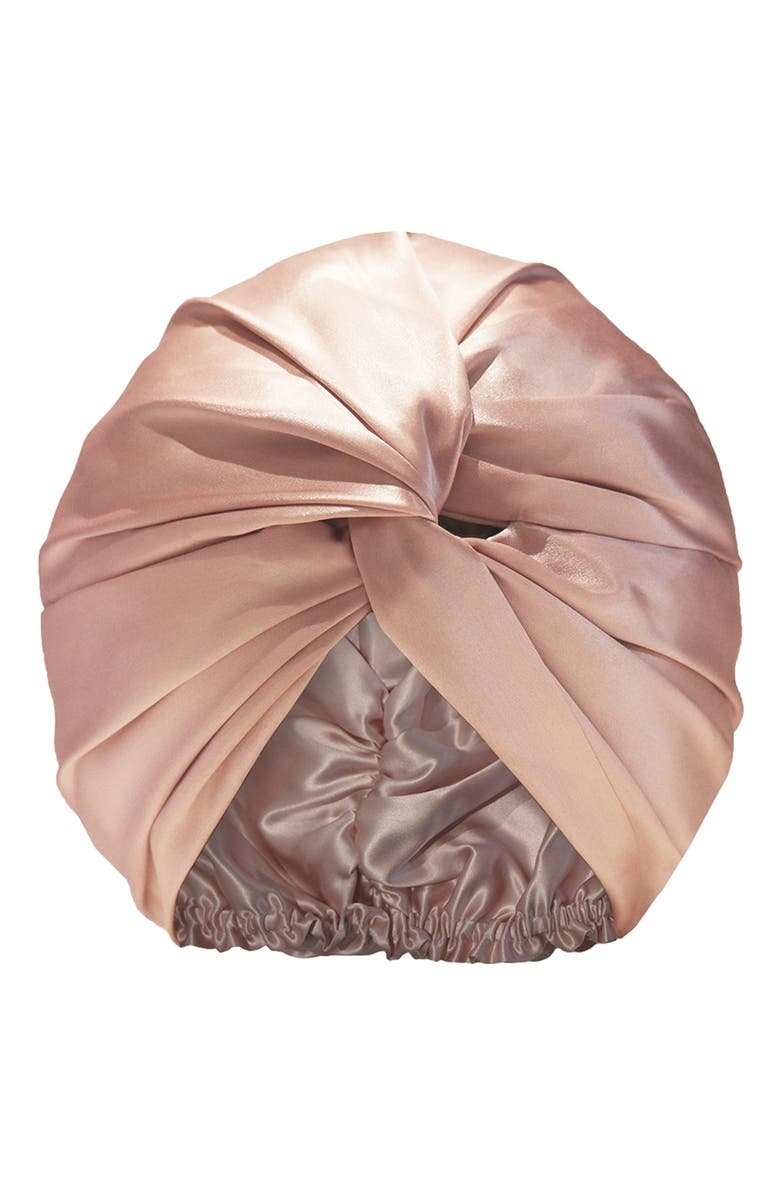 SLIP FOR BEAUTY SLEEP slip<sup>™</sup> for beauty sleep Pure Silk Hair Wrap, Main, color, PINK