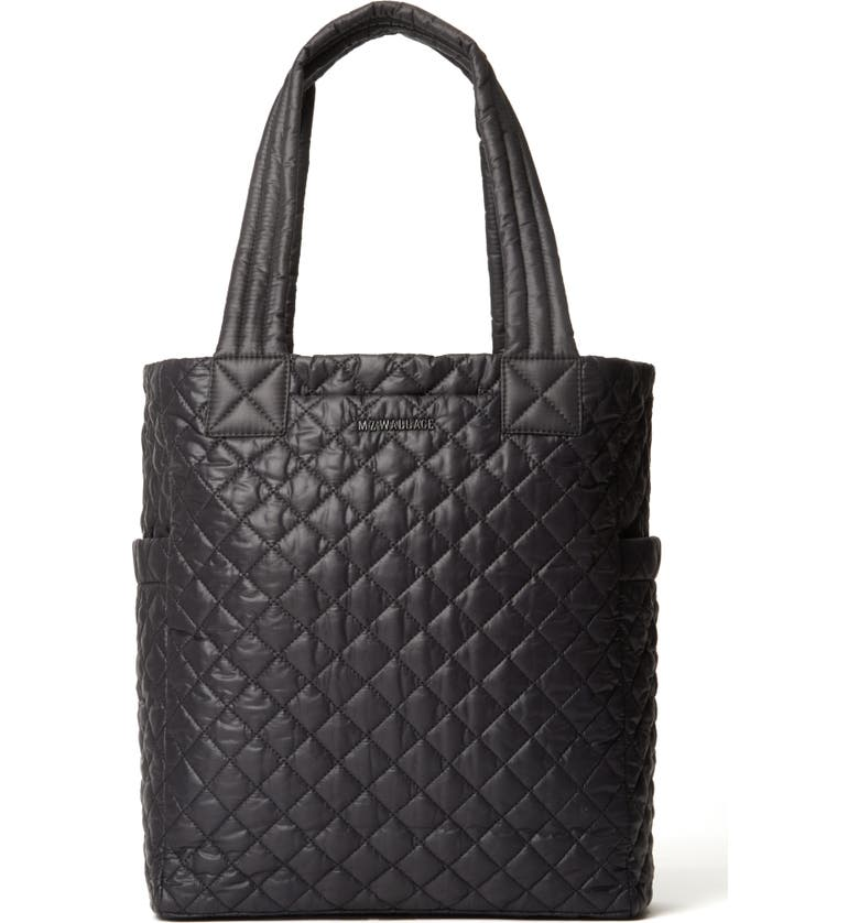 MZ WALLACE Max II Tote, Main, color, BLACK