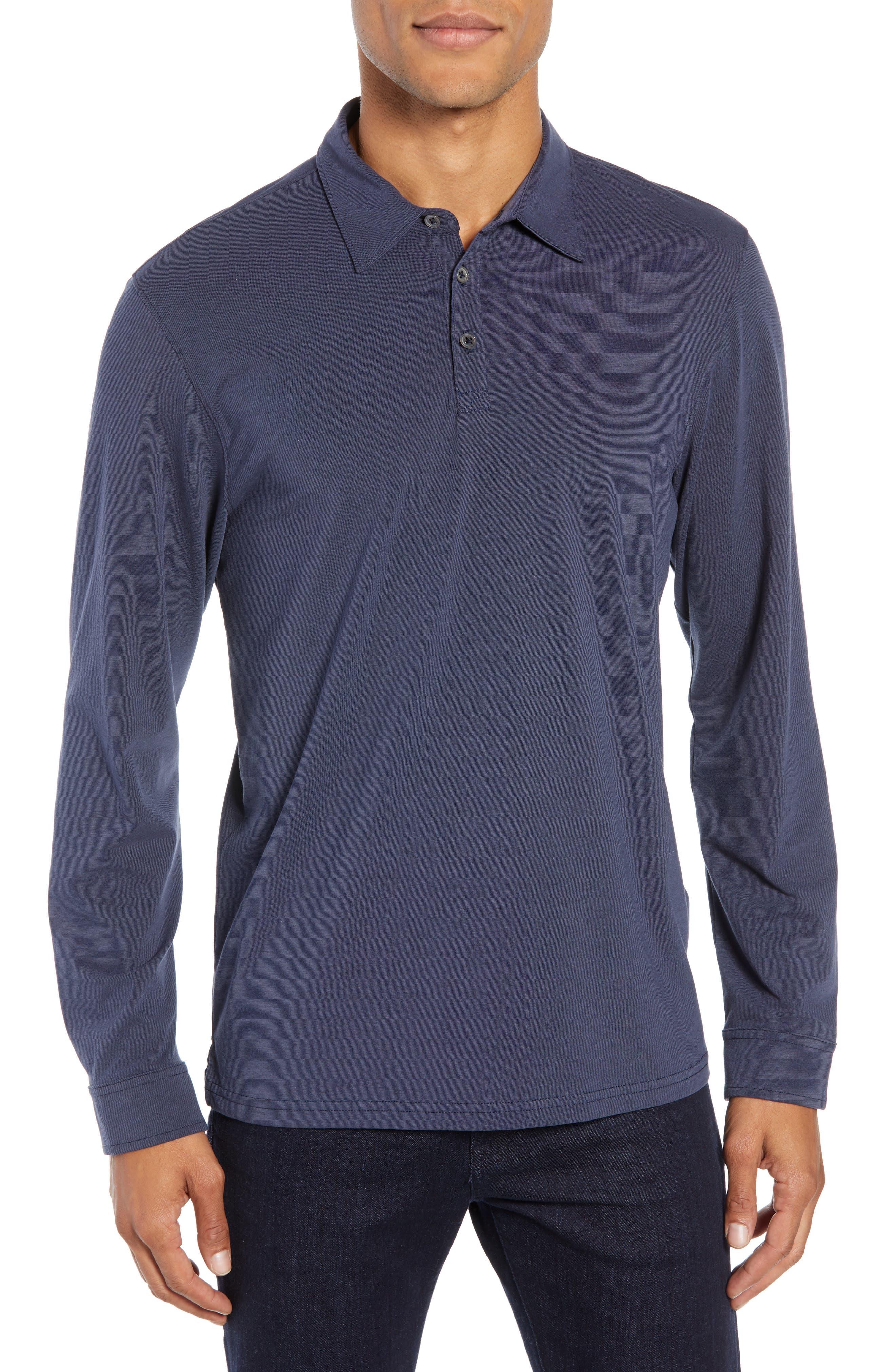 Benton Long Sleeve Polo, Main, color, 411