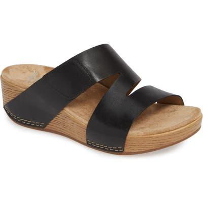 Dansko Lacee Slide Sandal - Black