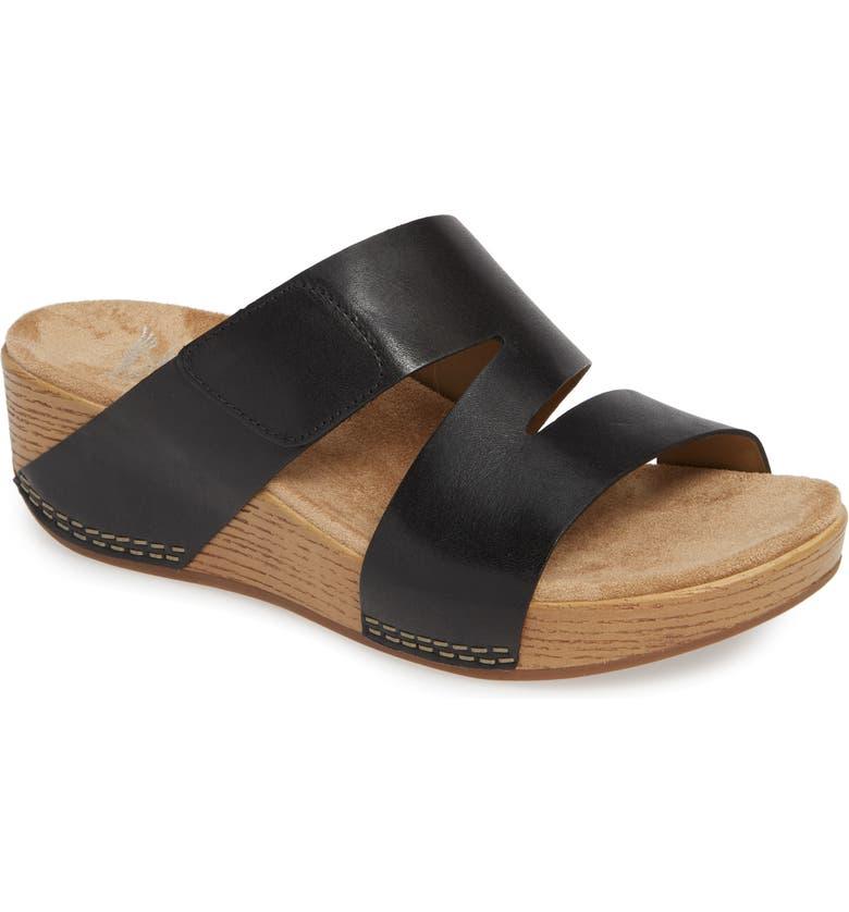 DANSKO Lacee Slide Sandal, Main, color, 001