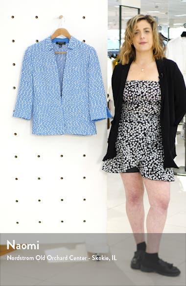 Engineered Coastal Texture Tweed Knit Jacket, sales video thumbnail