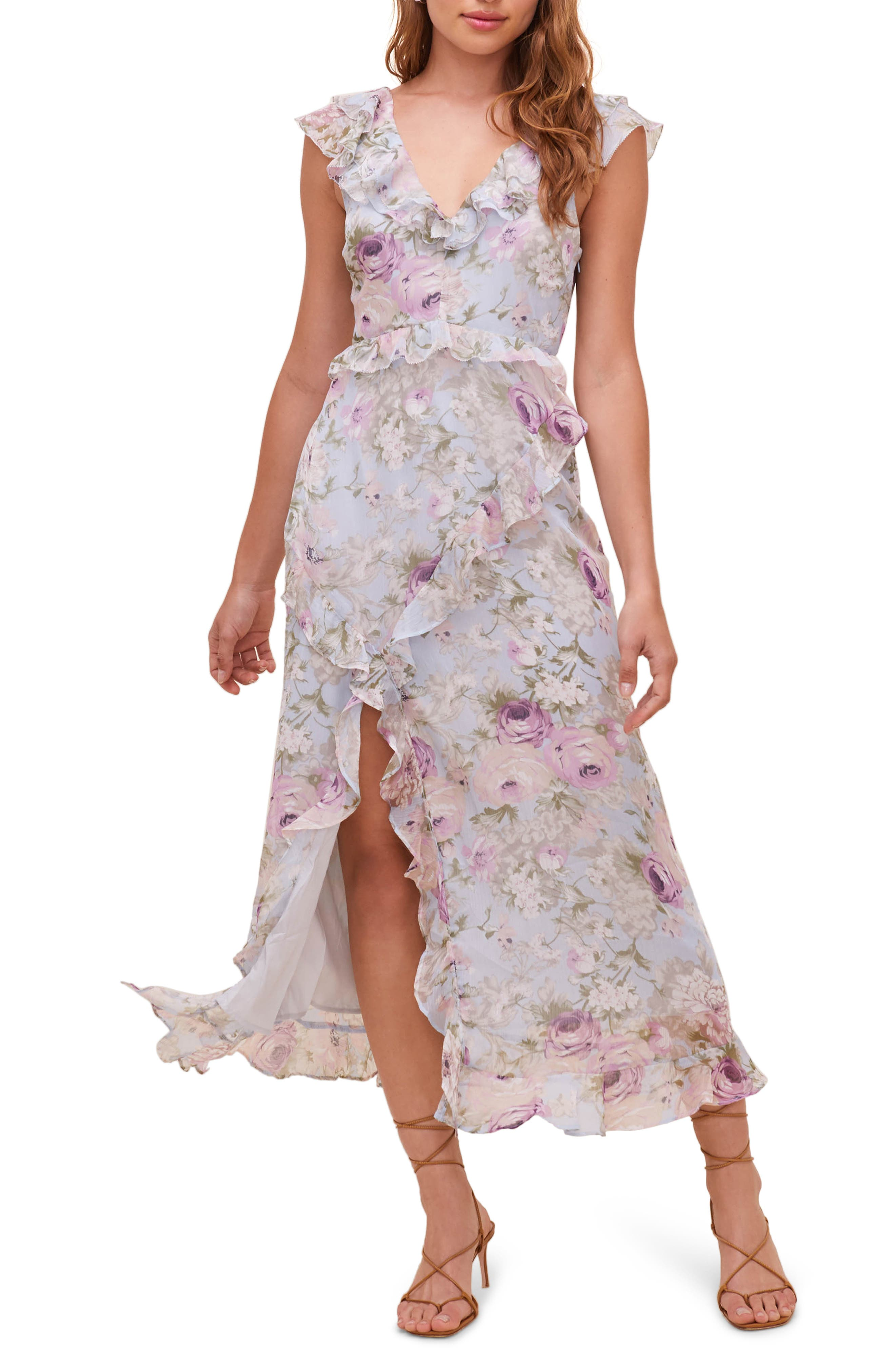 Tempest Floral Midi Dress