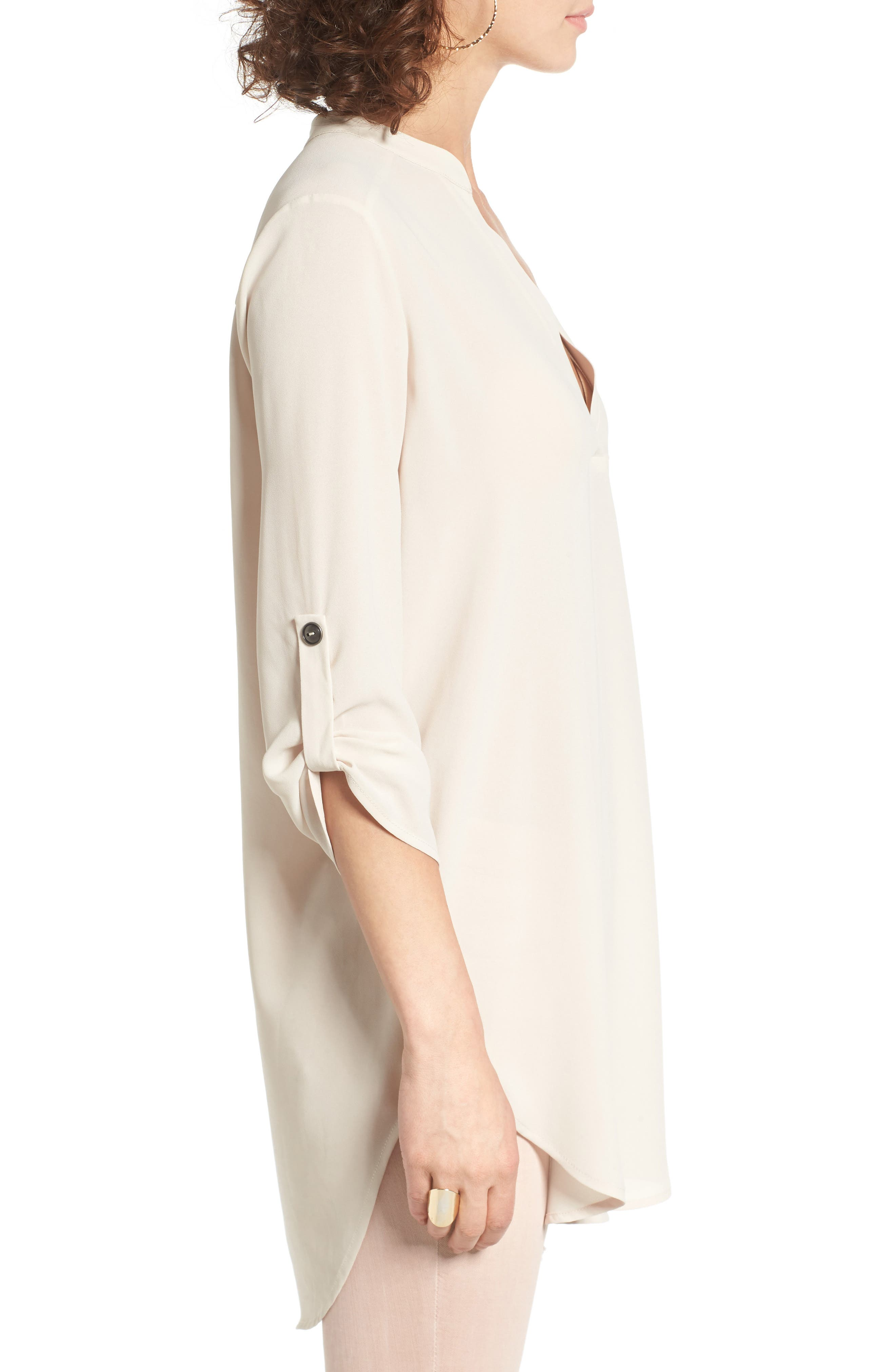 ,                             Perfect Roll Tab Sleeve Tunic,                             Alternate thumbnail 233, color,                             252