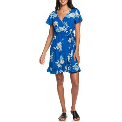 Roxy Sun Dreamer Season Floral Minidress, Blue