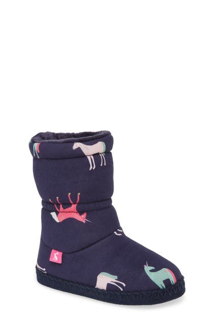Image of Joules Padabout Faux Fur Lined Boot