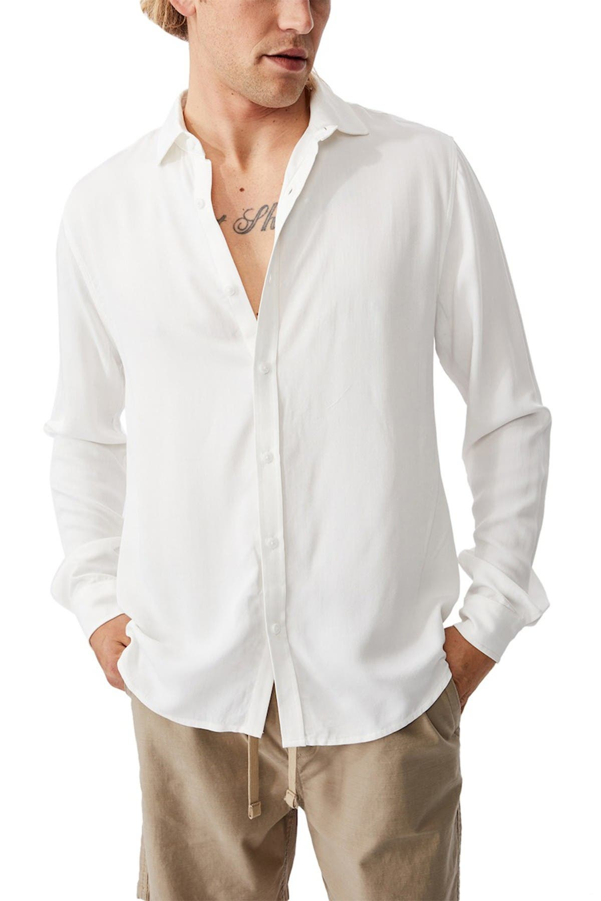 Cotton On 91 Long Sleeve Shirt at Nordstrom Rack