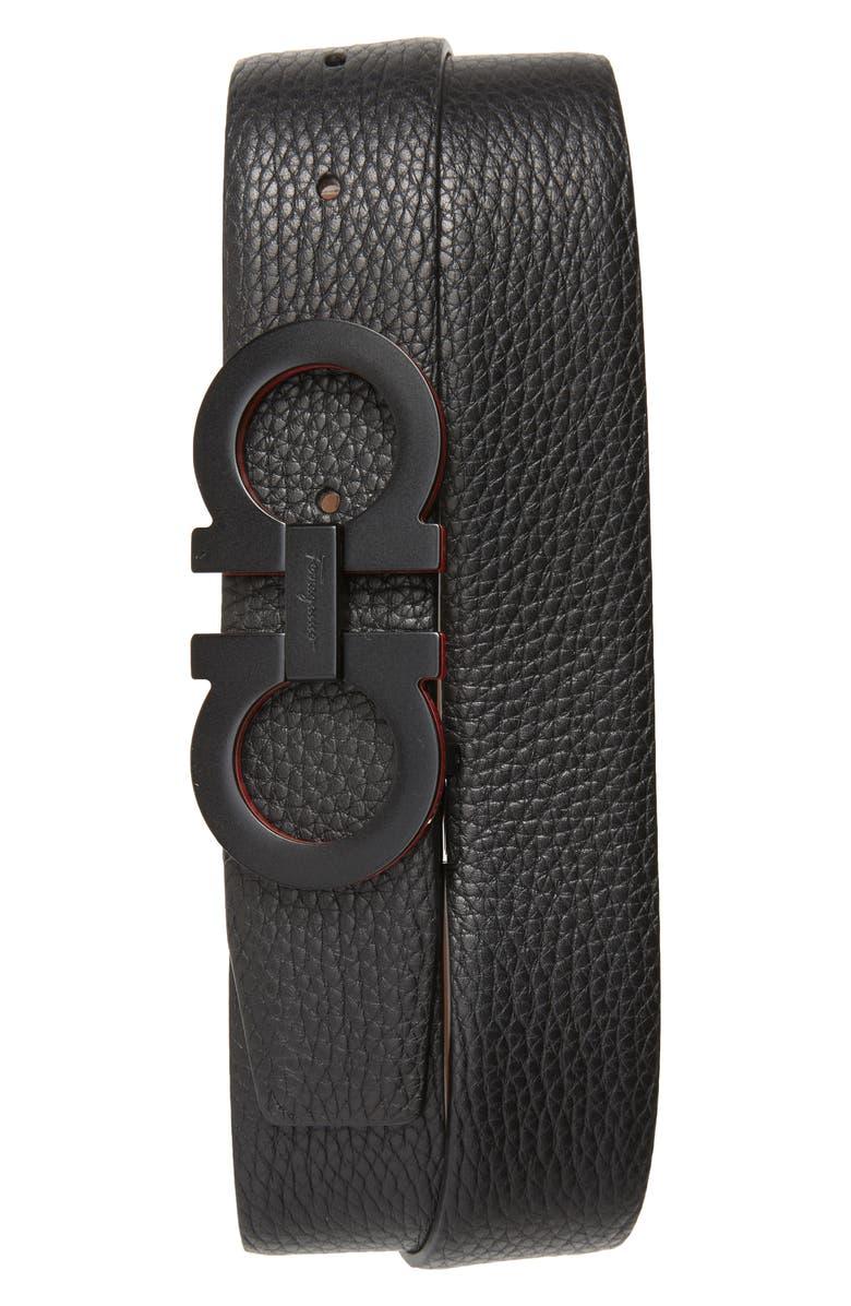 Salvatore Ferragamo Panini Leather Belt | Nordstrom