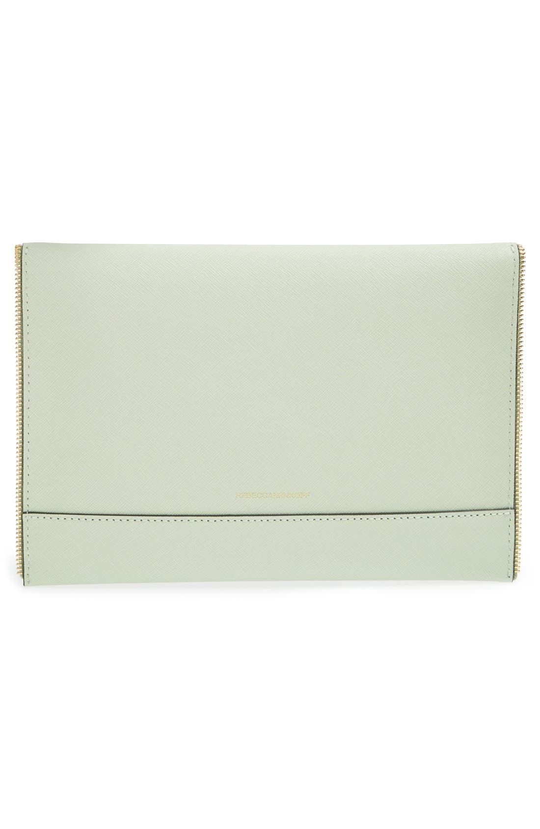 ,                             Leo Envelope Clutch,                             Alternate thumbnail 203, color,                             440