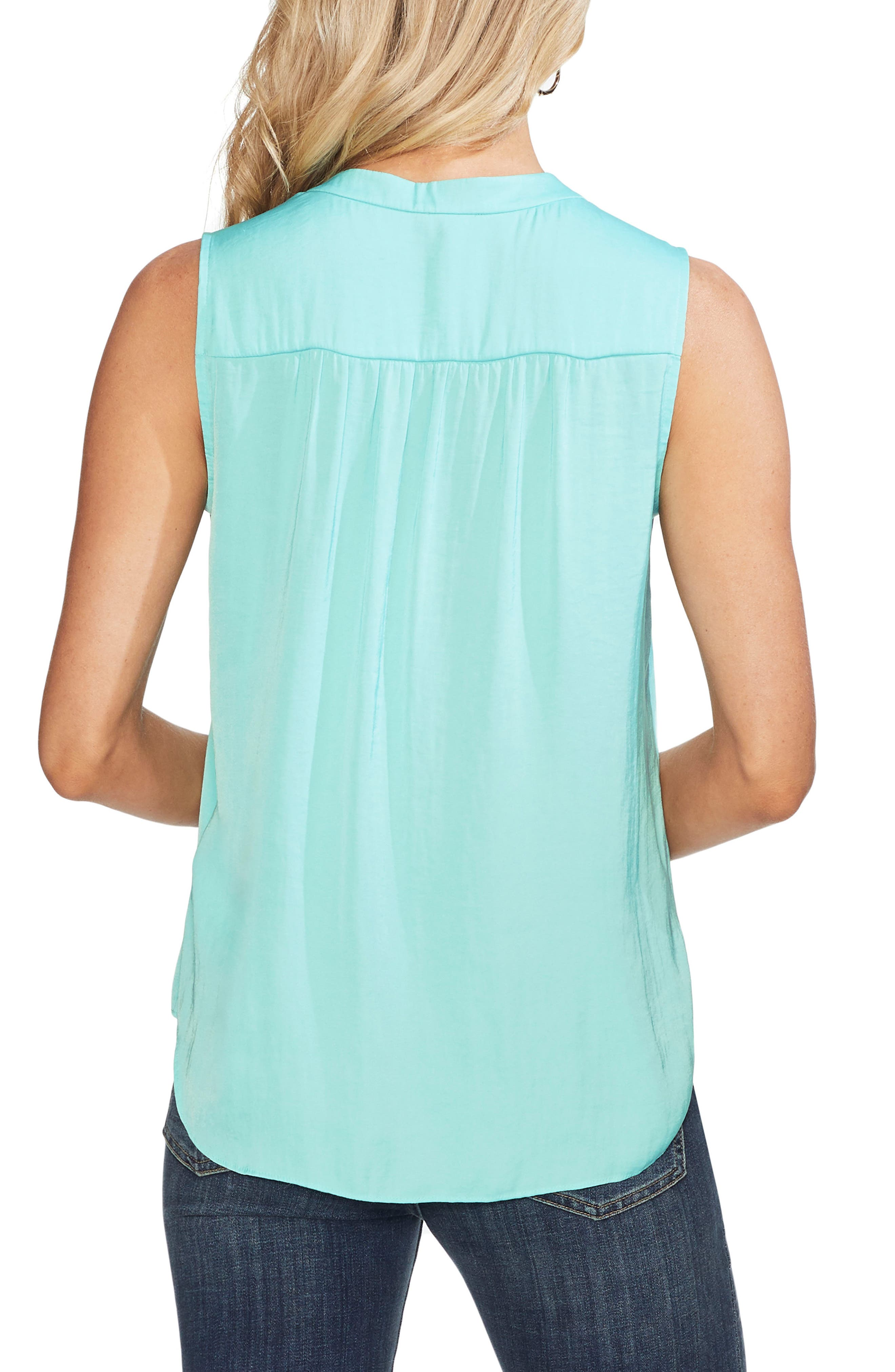 ,                             Rumpled Satin Blouse,                             Alternate thumbnail 31, color,                             419