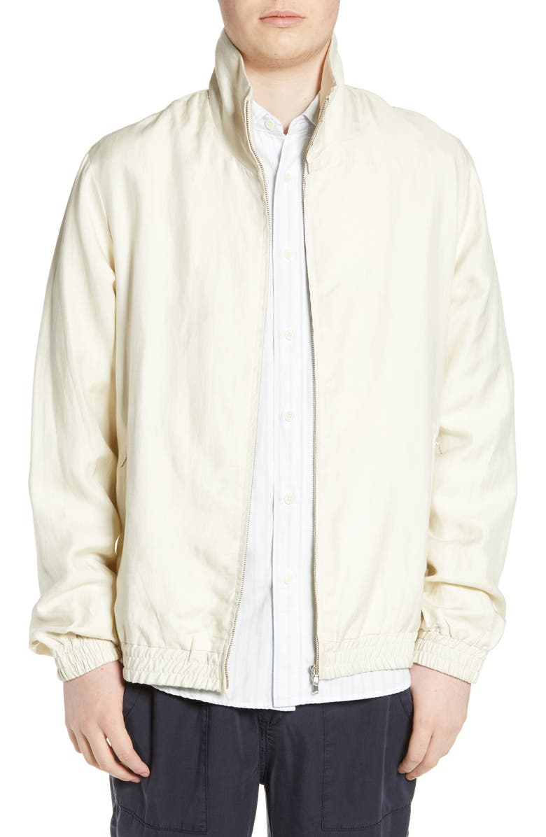 WAX LONDON Packable Track Jacket, Main, color, LIGHT CLAY