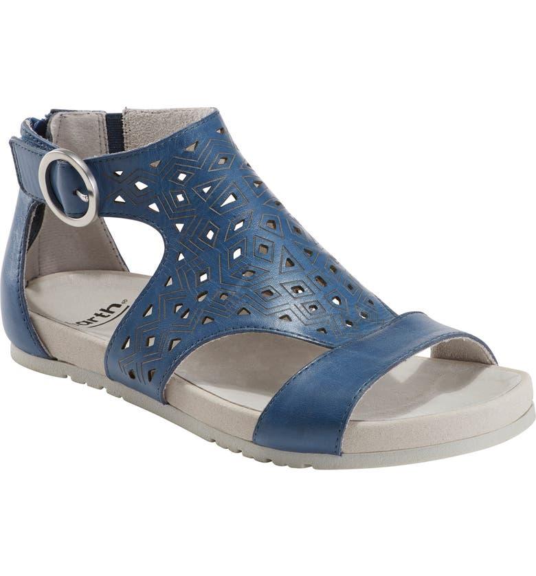 EARTH<SUP>®</SUP> Lebanon Sandal, Main, color, SAPPHIRE BLUE LEATHER