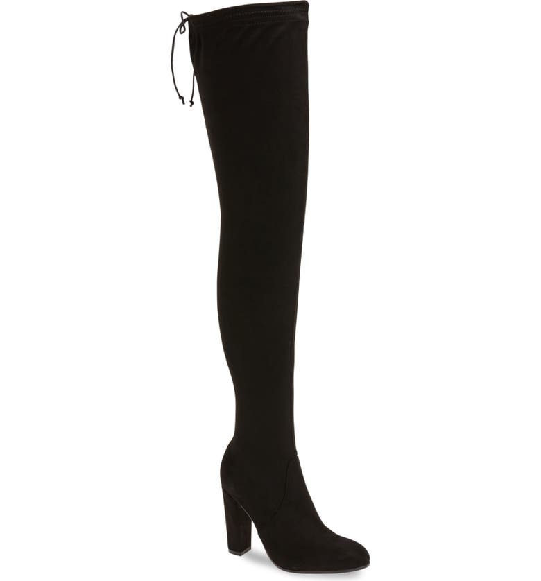TONY BIANCO Tash Over the Knee Stretch Boot, Main, color, 001
