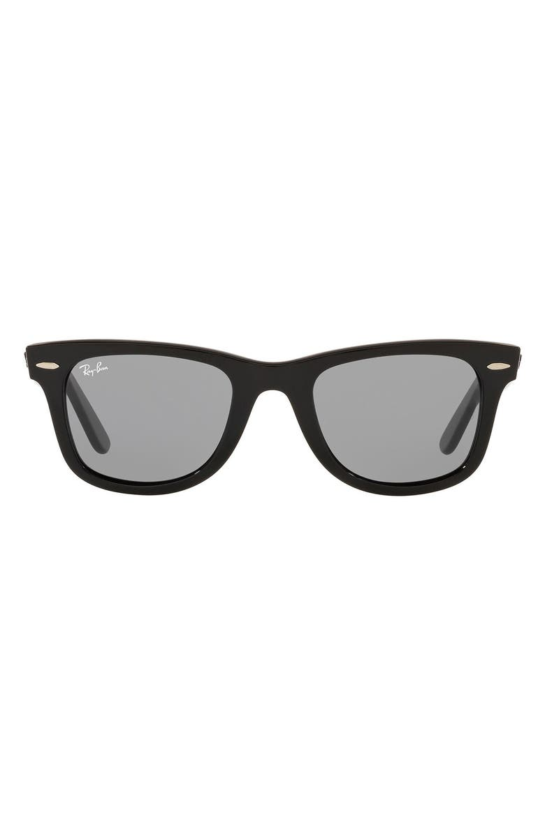 RAY-BAN 'Classic Wayfarer' 50mm Sunglasses, Main, color, 007