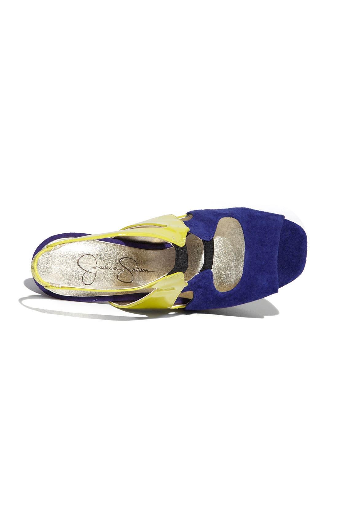 ,                             'Bendie' Platform Sandal,                             Alternate thumbnail 14, color,                             501