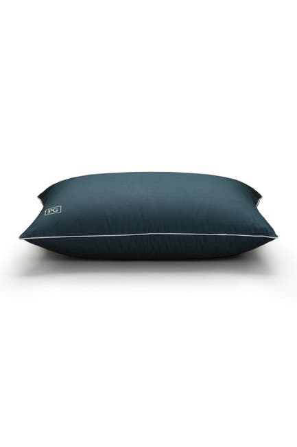 Image of Pillow Guy Standard/Queen Down Alternative Side & Back Sleeper Overstuffed Pillow with MicronOne Technology - Navy/White