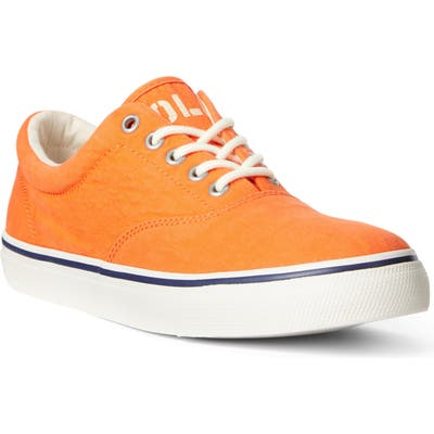 Polo Ralph Lauren Harpoon Sneaker, Orange