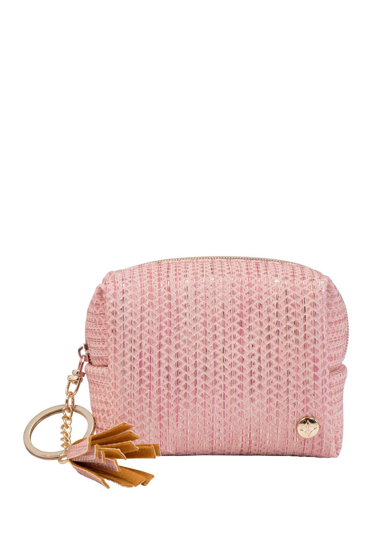 Image of Stephanie Johnson Aruba Zoe Keychain Pouch - Pink