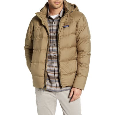 Patagonia Silent Water Repellent 700 Fill Power Down Jacket, Green