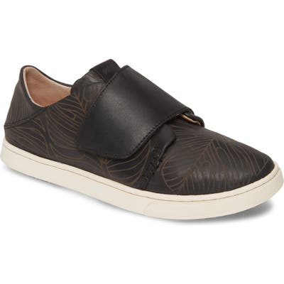 Olukai Pehuea Loupili Sneaker, Black