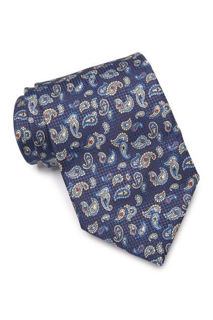 Image of Eton Paisley Silk Tie