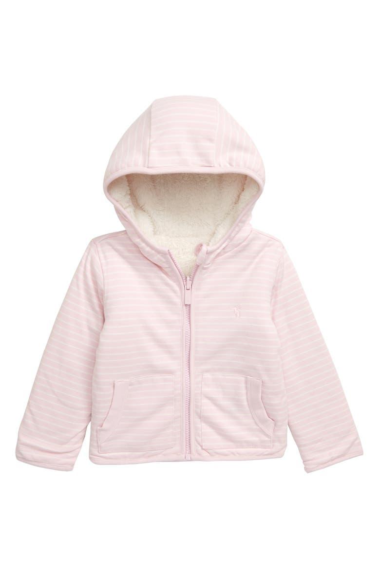 JOULES Cosette Reversible Fleece Jacket, Main, color, 664