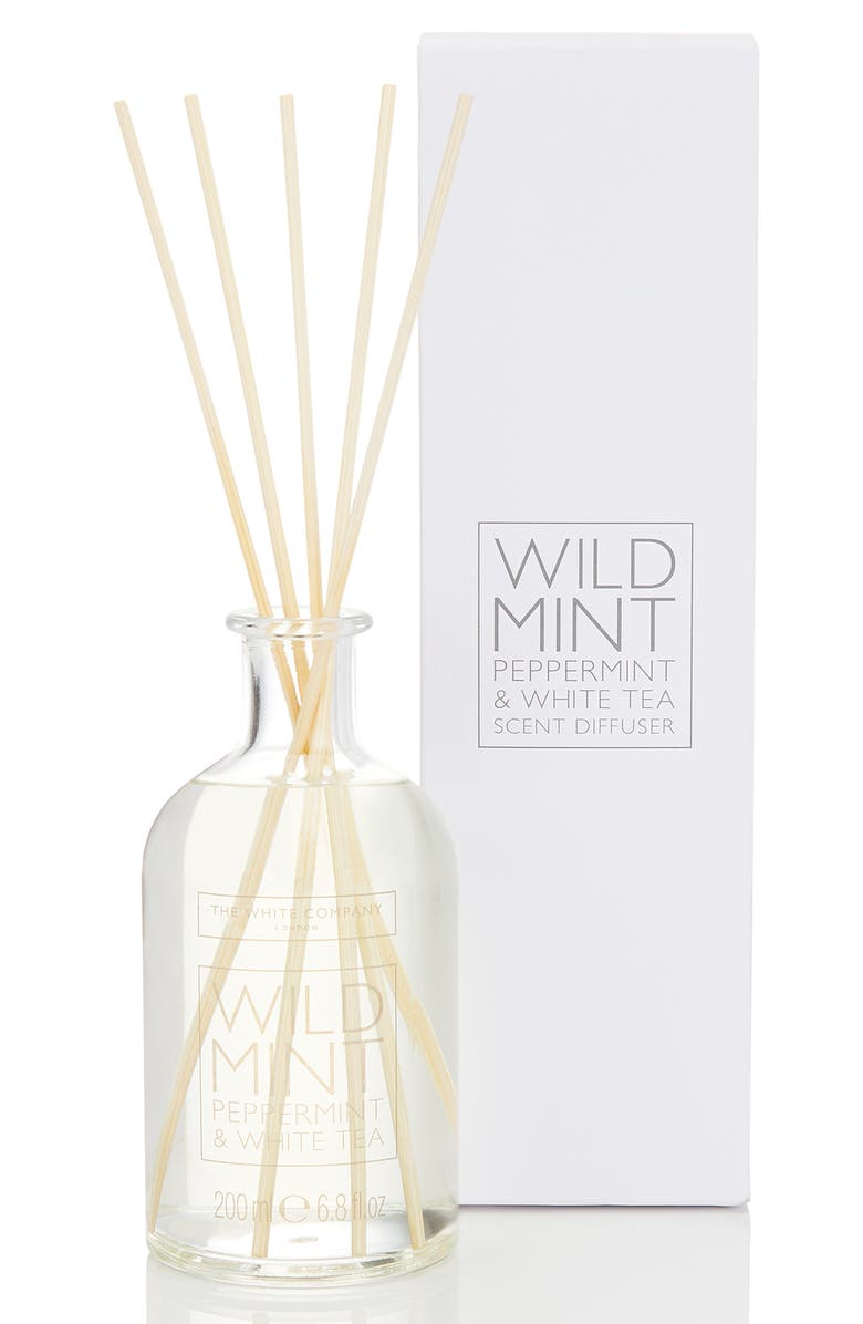 THE WHITE COMPANY Home Fragrance Diffuser, Main, color, WILD MINT