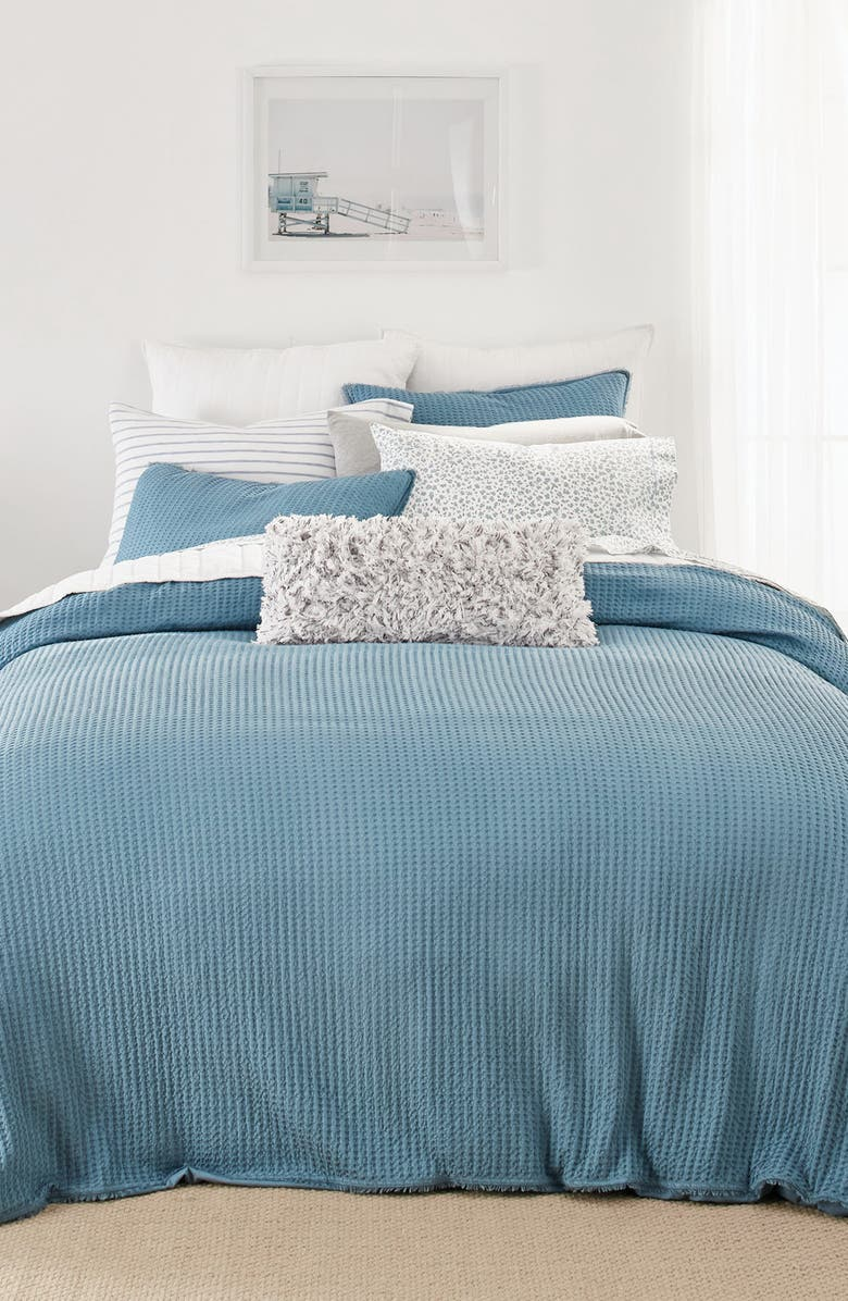 SPLENDID HOME DECOR Topanga Comforter & Sham Set, Main, color, TEAL