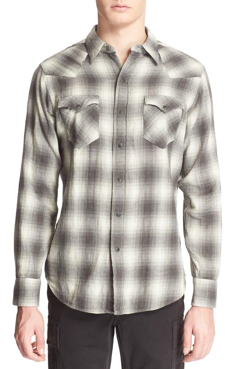 moderate Kosten Tiefstpreis super service Polo Ralph Lauren Classic Fit Plaid Western Shirt | Nordstrom