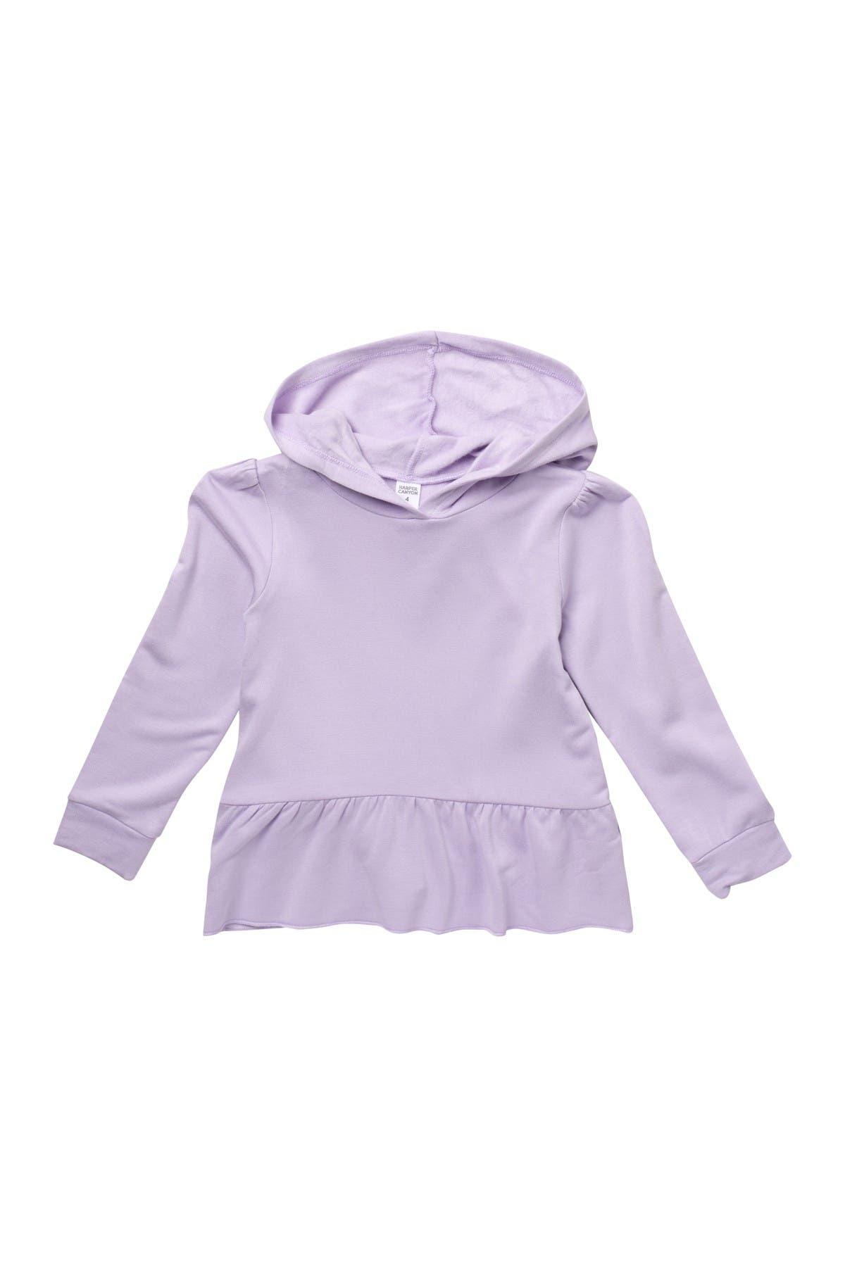Image of Harper Canyon Peplum Fleece Sweater