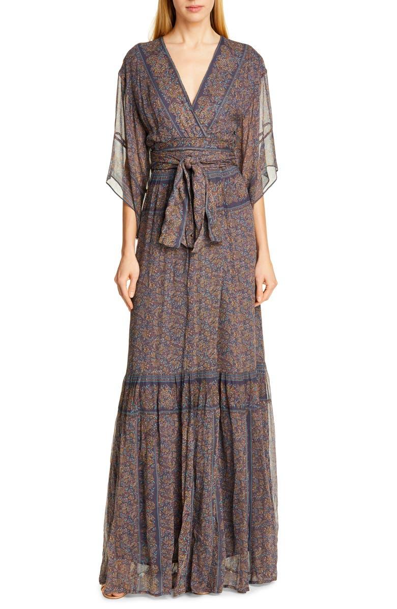 BA&SH May Maxi Dress, Main, color, 021
