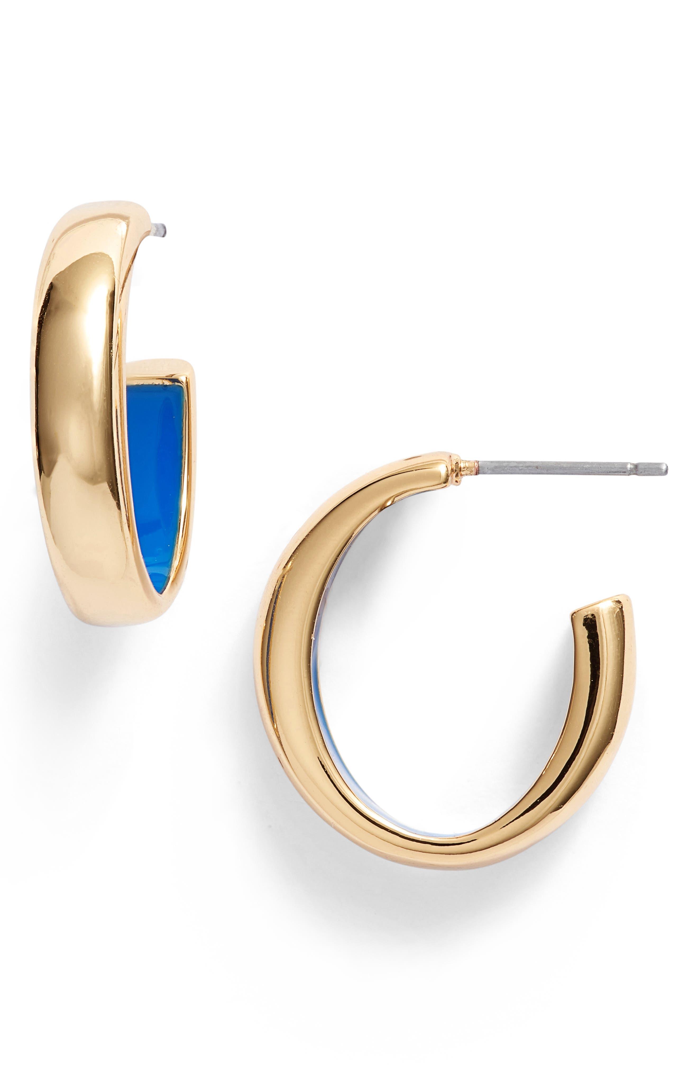 Mavi Hoop Earrings