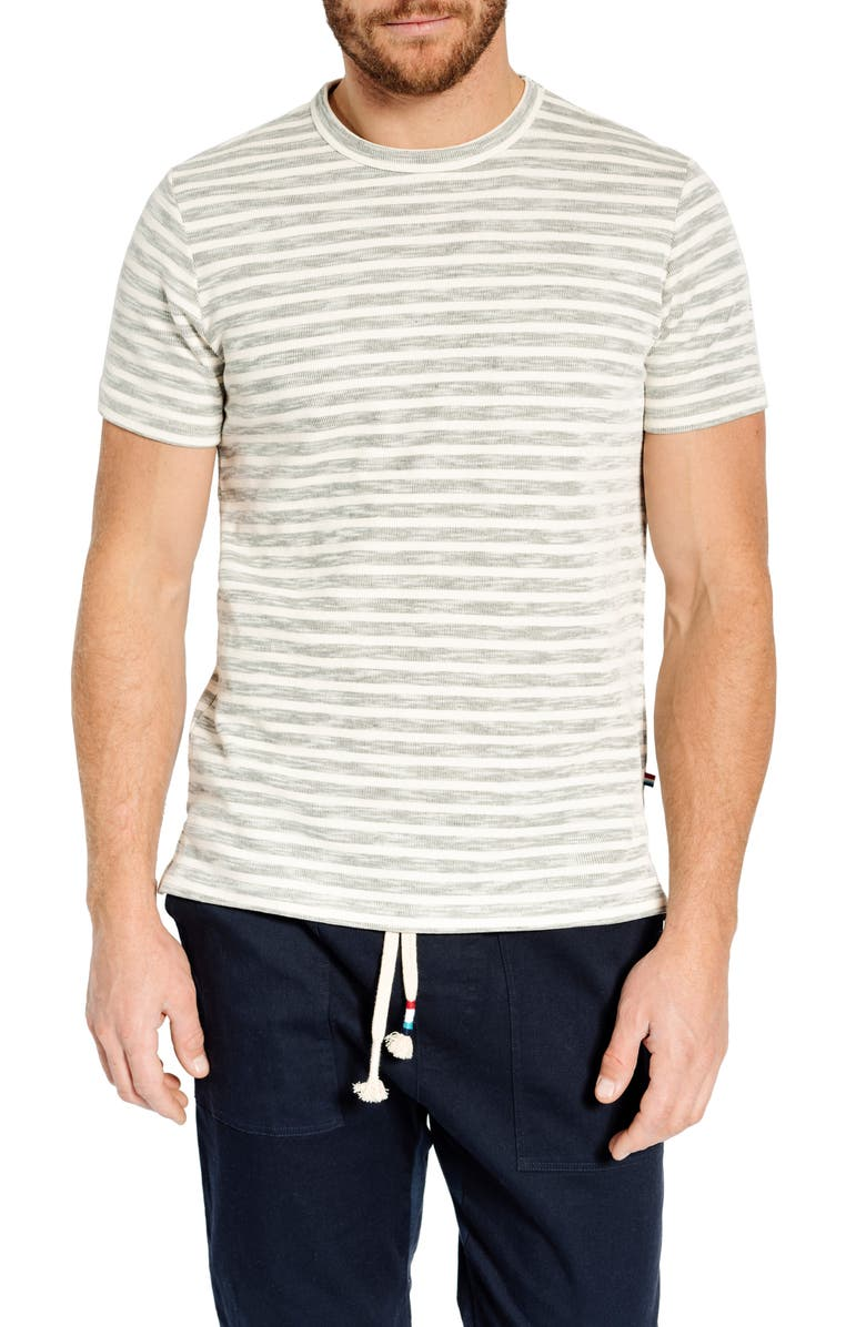 SOL ANGELES Stripe T-Shirt, Main, color, NATURAL