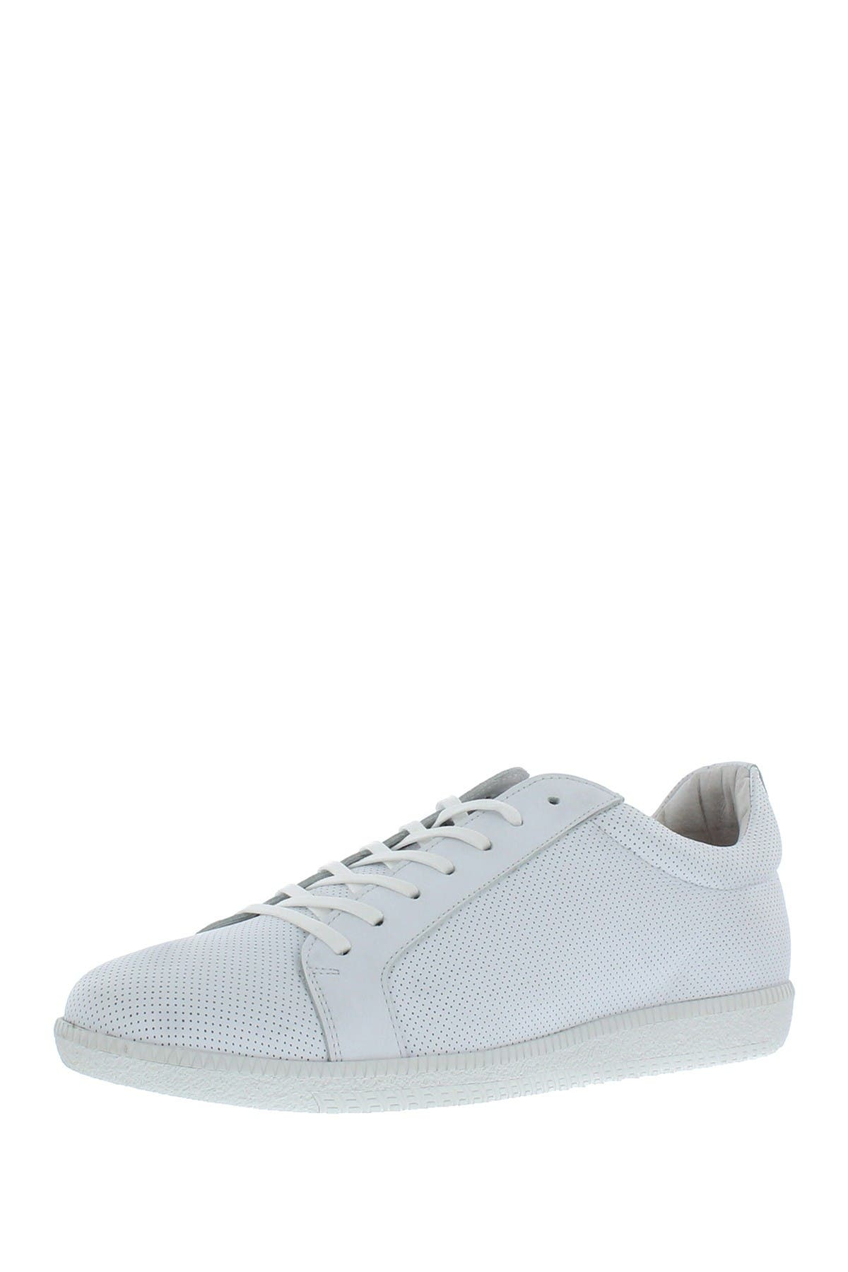 Image of SUPPLY LAB Casual Perforated Leather Sneaker