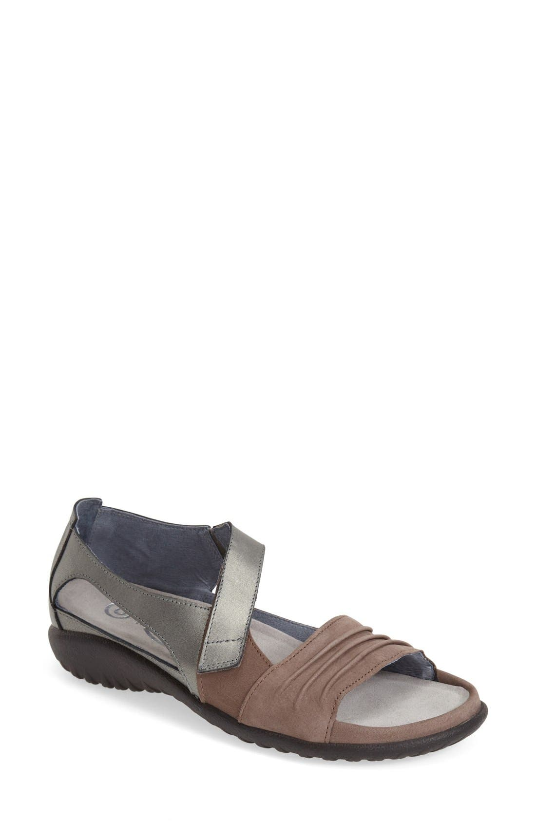 Brand New Naot Norel Womens Comfort Cushioned Orthotic Friendly Leather Sandals