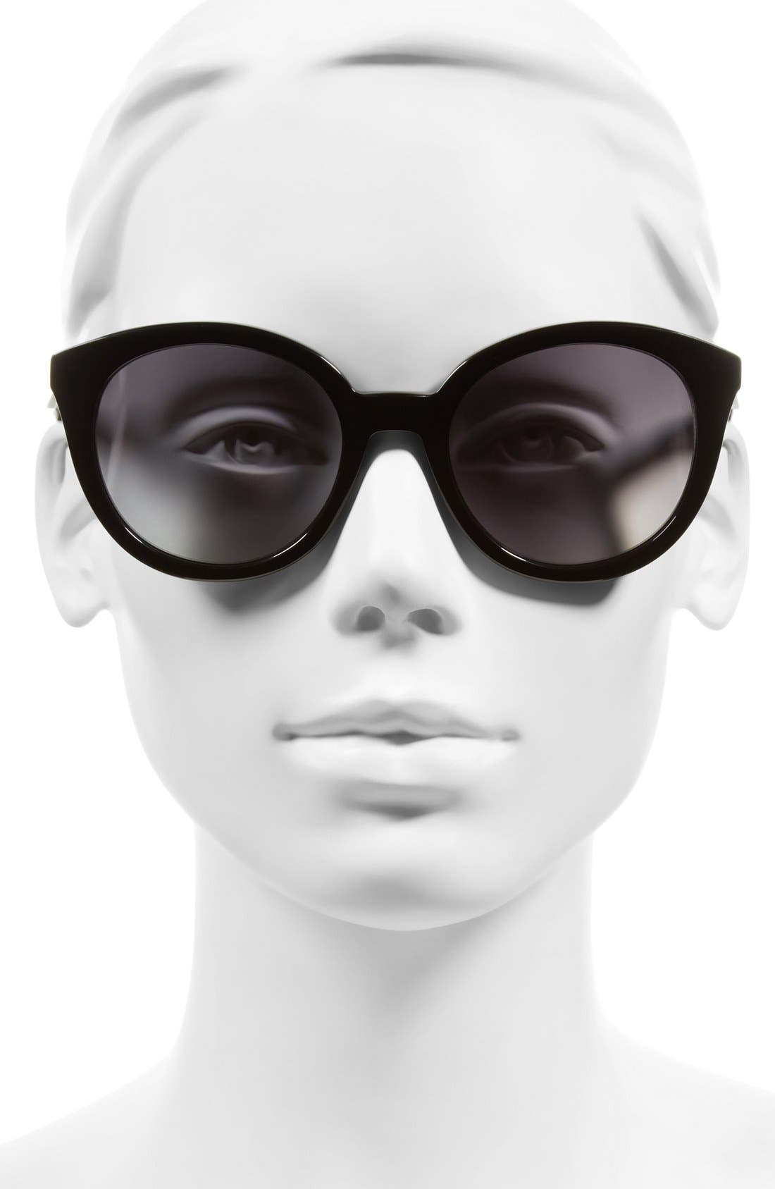 ,                             Holland 50mm Gradient Round Sunglasses,                             Alternate thumbnail 5, color,                             001