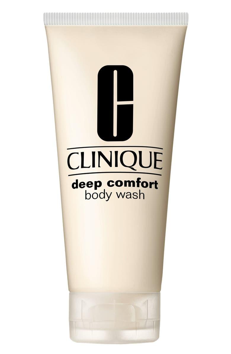 CLINIQUE Deep Comfort Body Wash, Main, color, NO COLOR