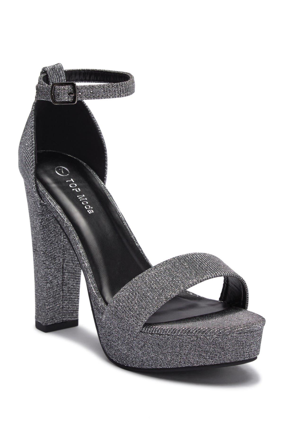 Image of Top Moda Thomas Platform Ankle Strap Sandal