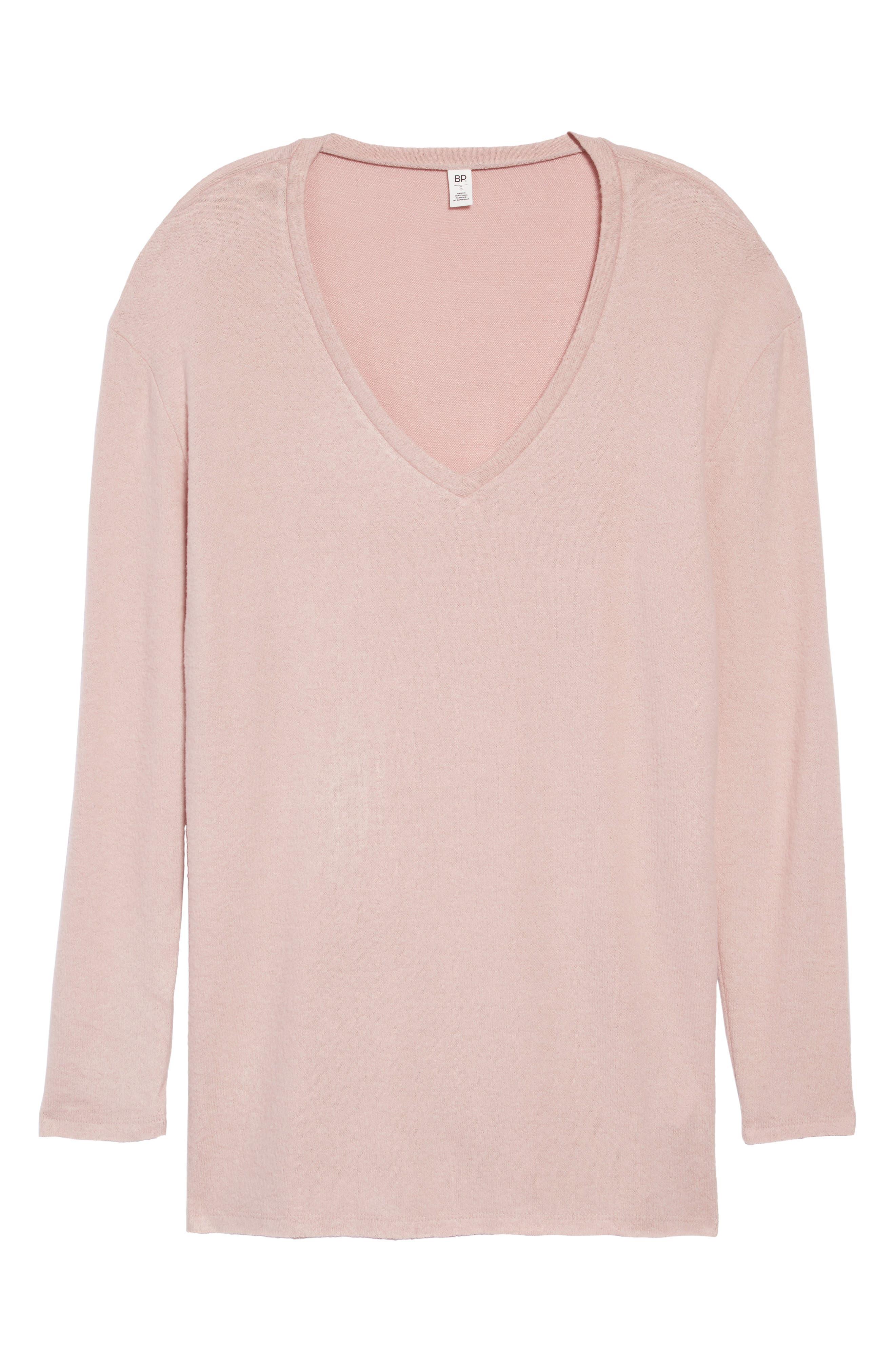,                             Cozy V-Neck Sweater,                             Alternate thumbnail 34, color,                             680